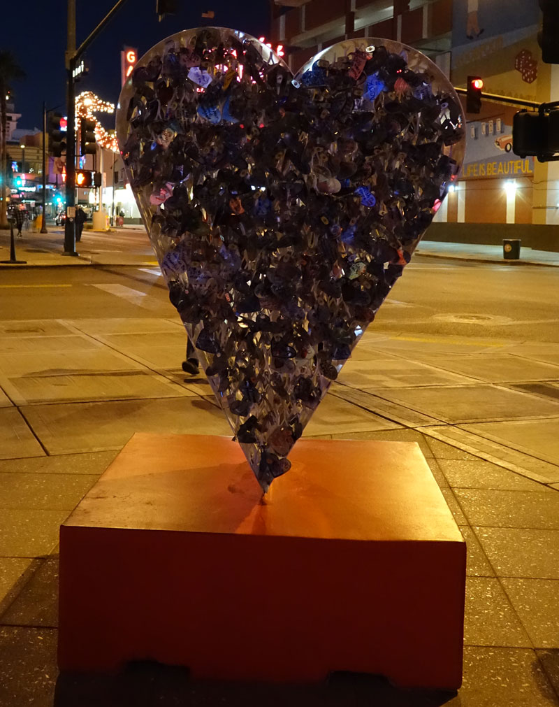 The Heart at Container Park