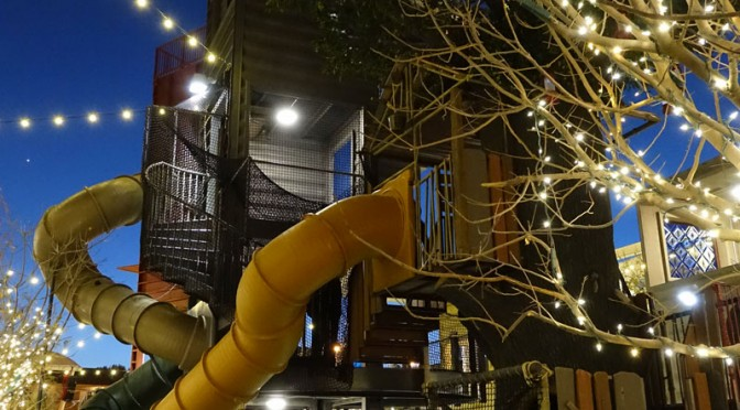 The Treehouse at Container Park