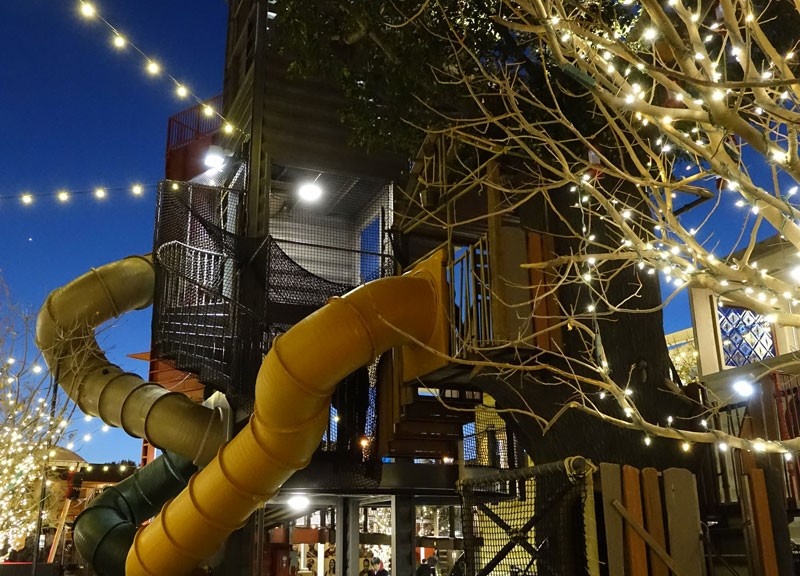 Container Park Treehouse