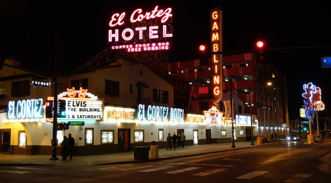 Outside The El Cortez