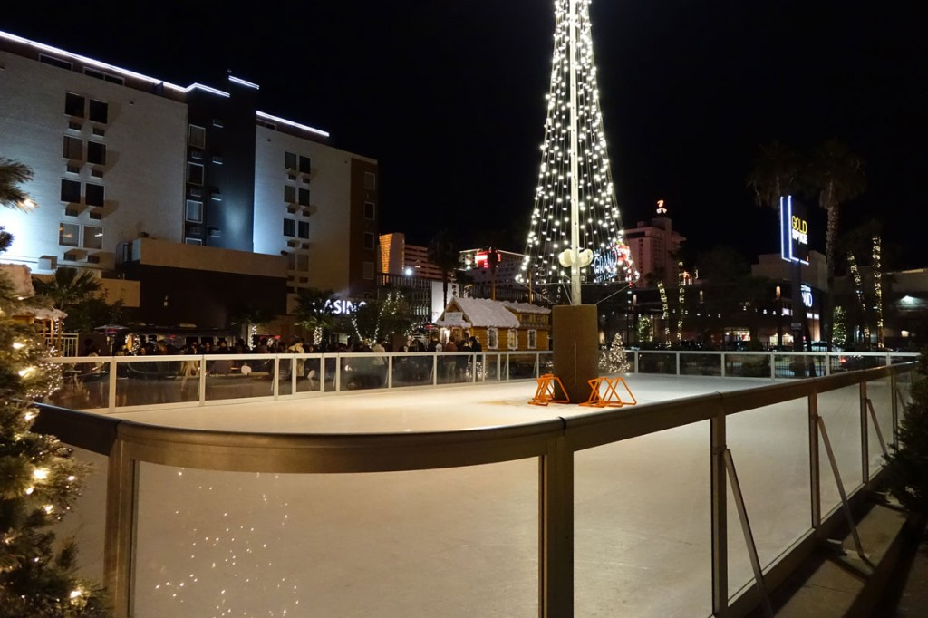 Gold Spike Ice Rink